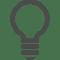 豆電球のアイコン素材。